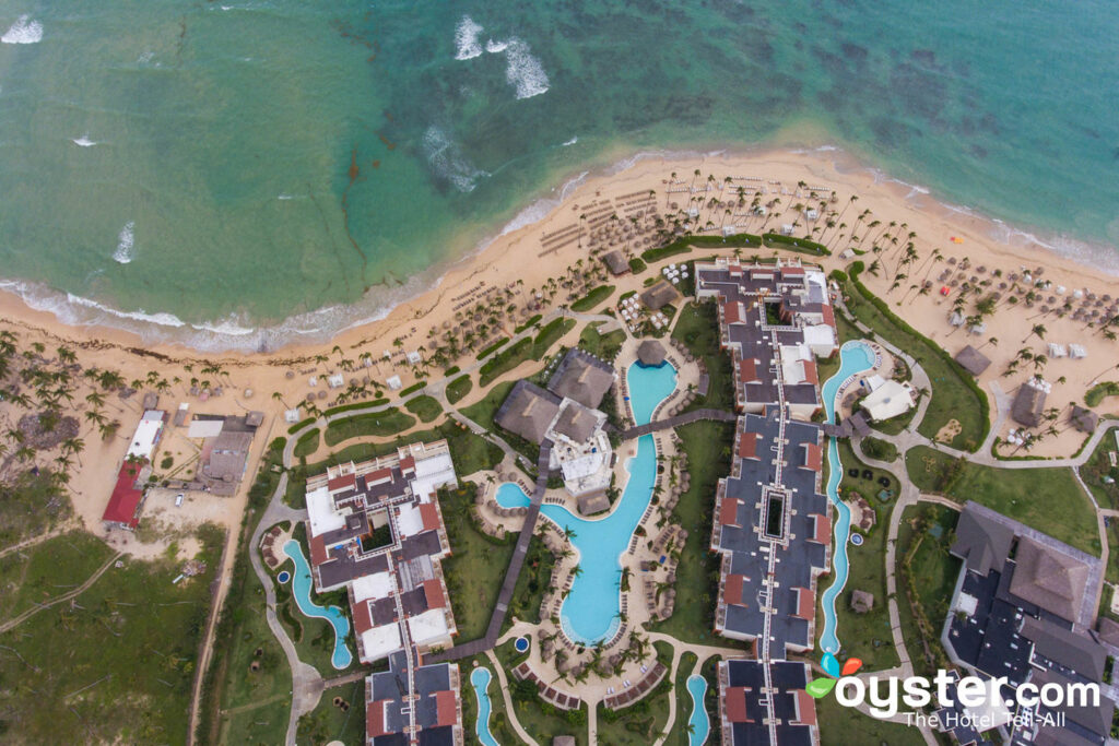 View of Breathless Punta Cana Resort & Spa