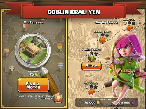 Clash of clans android oyun club