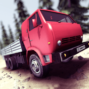 Truck Driver steep road Android