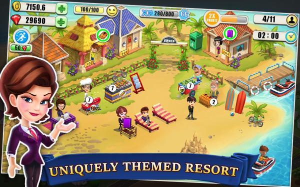Resort Tycoon Apk İndir – Sınırsız Hile 6.9 | Oyun İndir ...