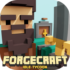 ForgeCraft - Idle Tycoon. Crafting Business Game. APK