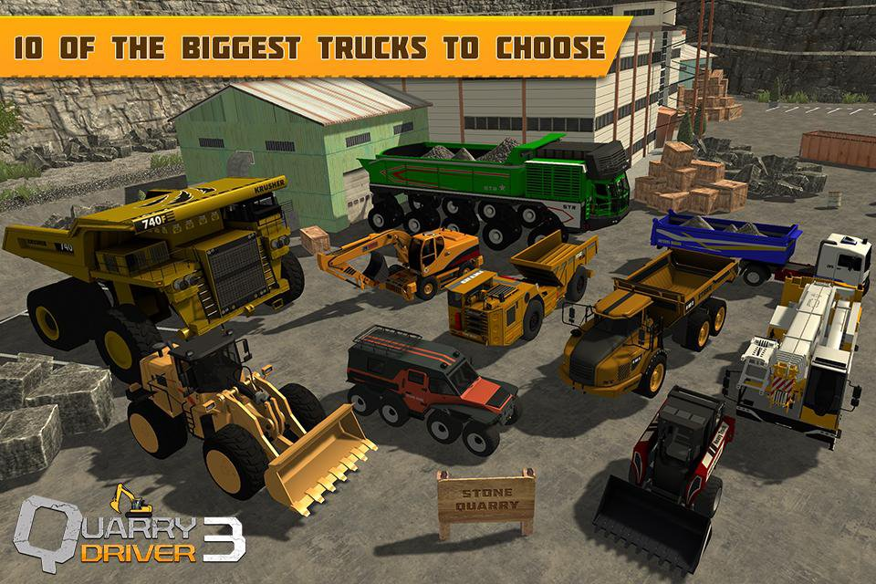 Quarry Driver 3 Giant Trucks Apk İndir – Para Hileli Mod 1 0 | Oyun