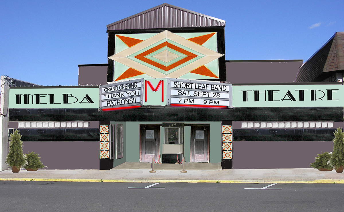 Melba Theater Rendering