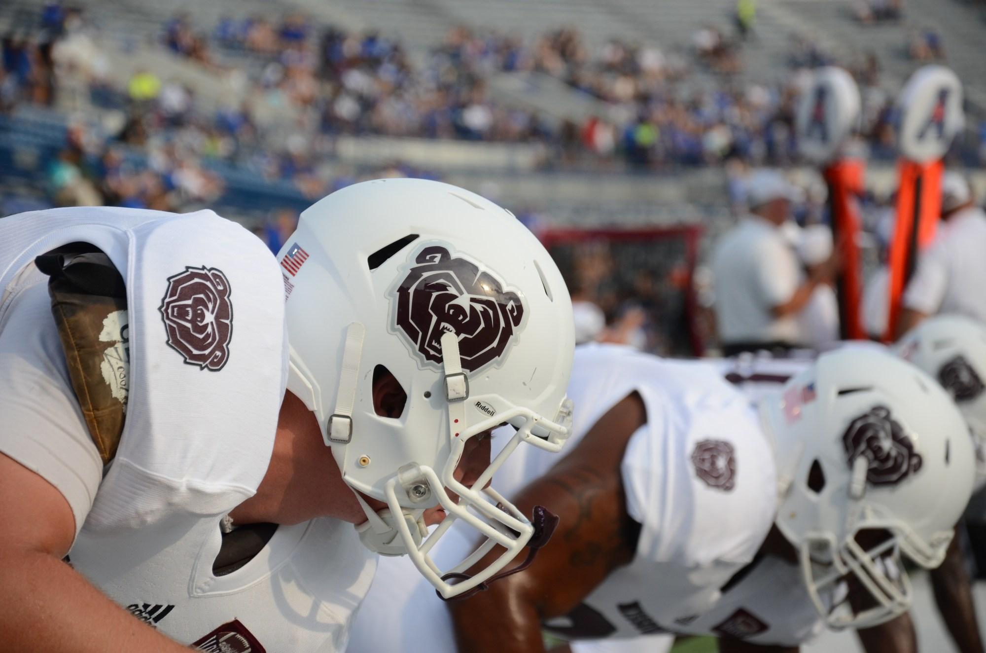 Missouri State Football Bear Helmet