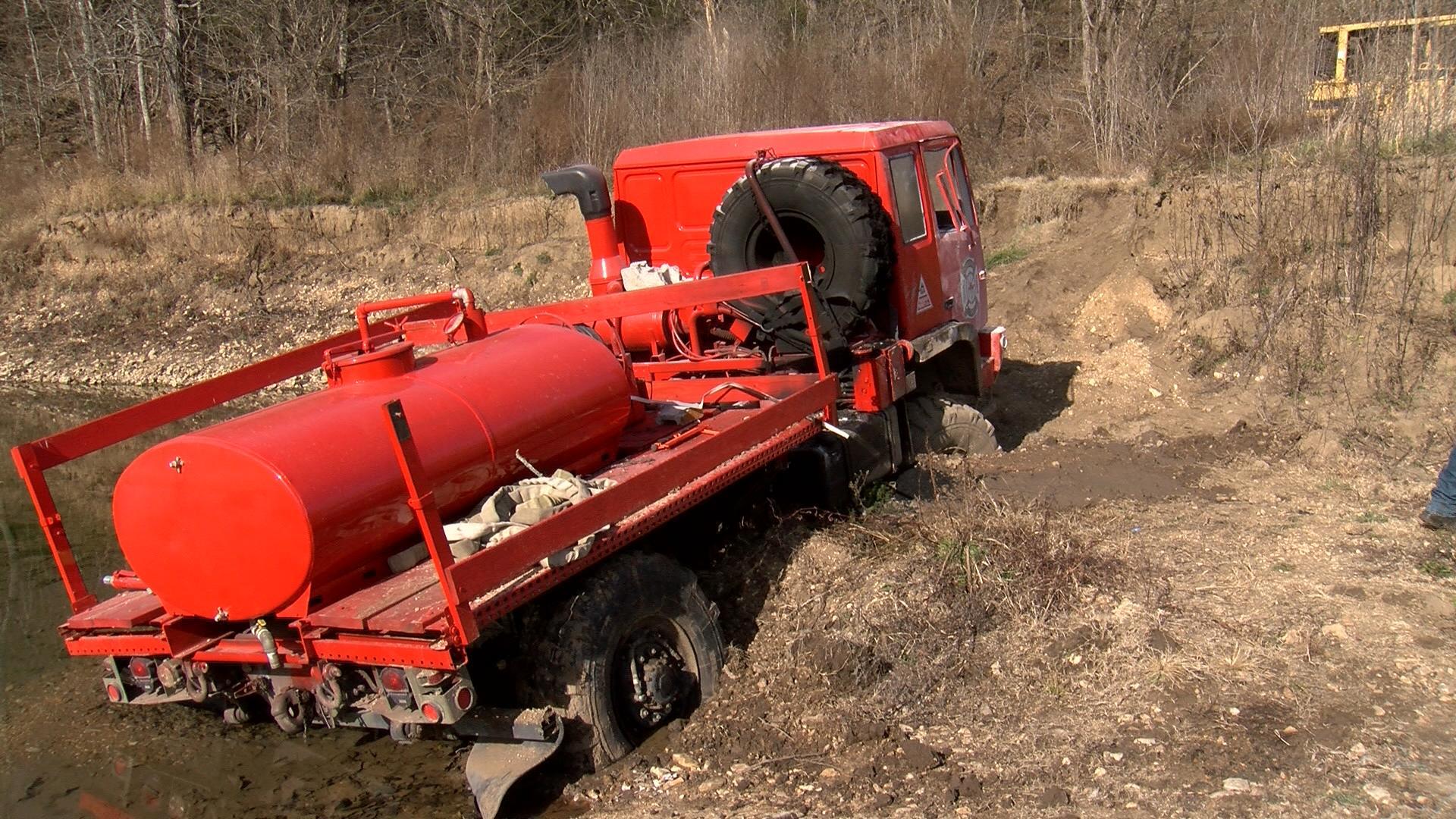 cedar creek fire truck