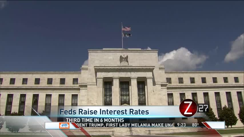 Fed Interest Rates Raised_62840676