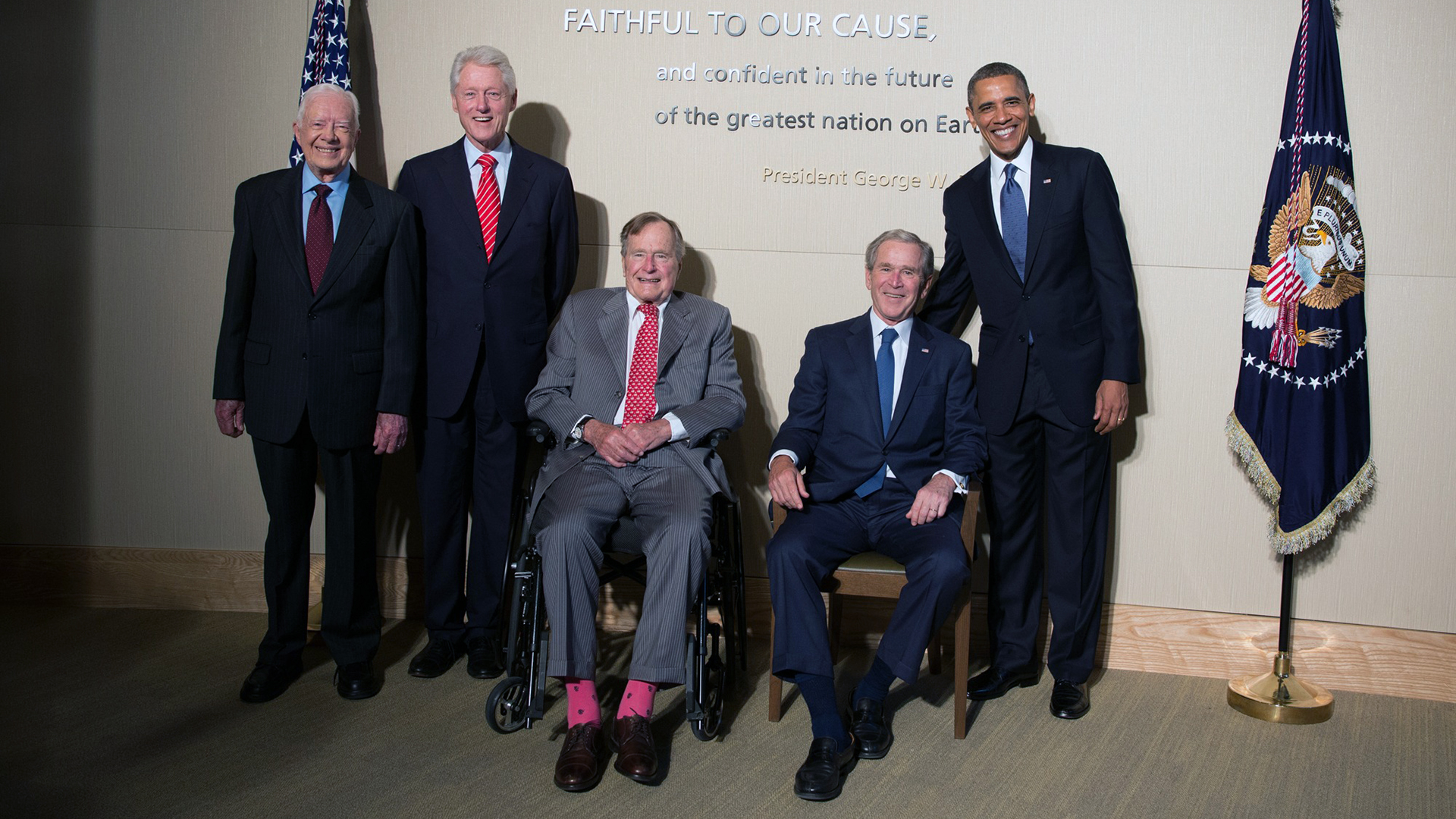 Jimmy Carter, George HW Bush, George W Bush, Bill Clinton, Barack Obama-159532.jpg10289422