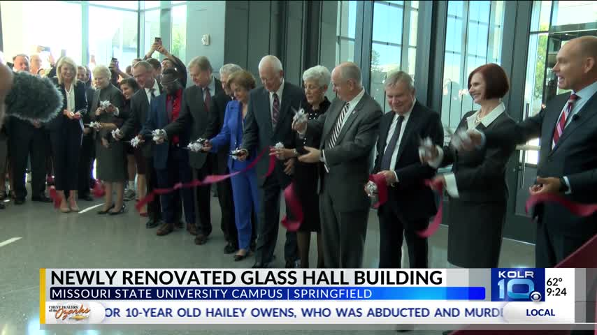 Newly Renovated Glass Hall Building Complete_30555421