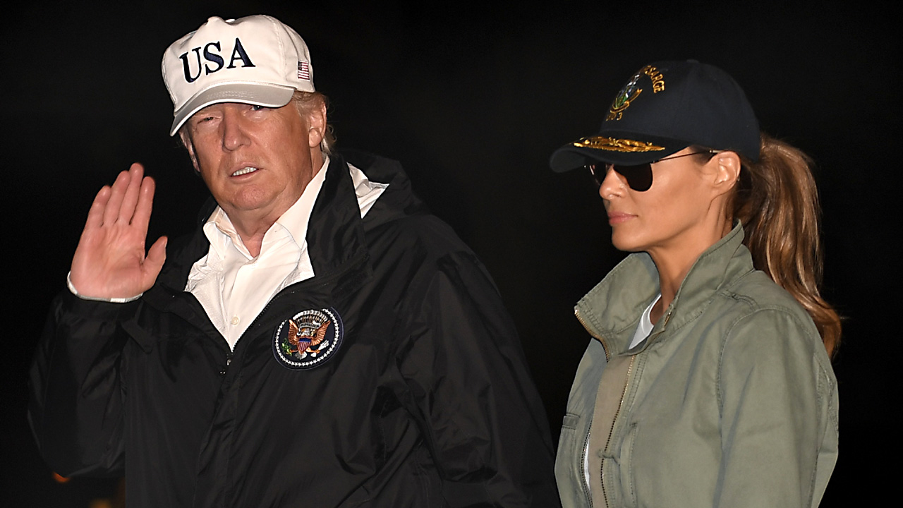 Trump returns from Puerto Rico29308251-159532