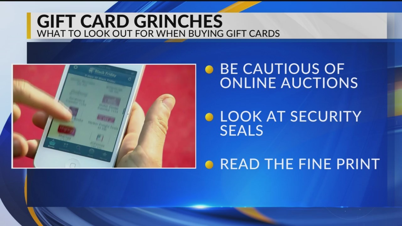 Springfield BBB Warns of Holiday Gift Card Purchases