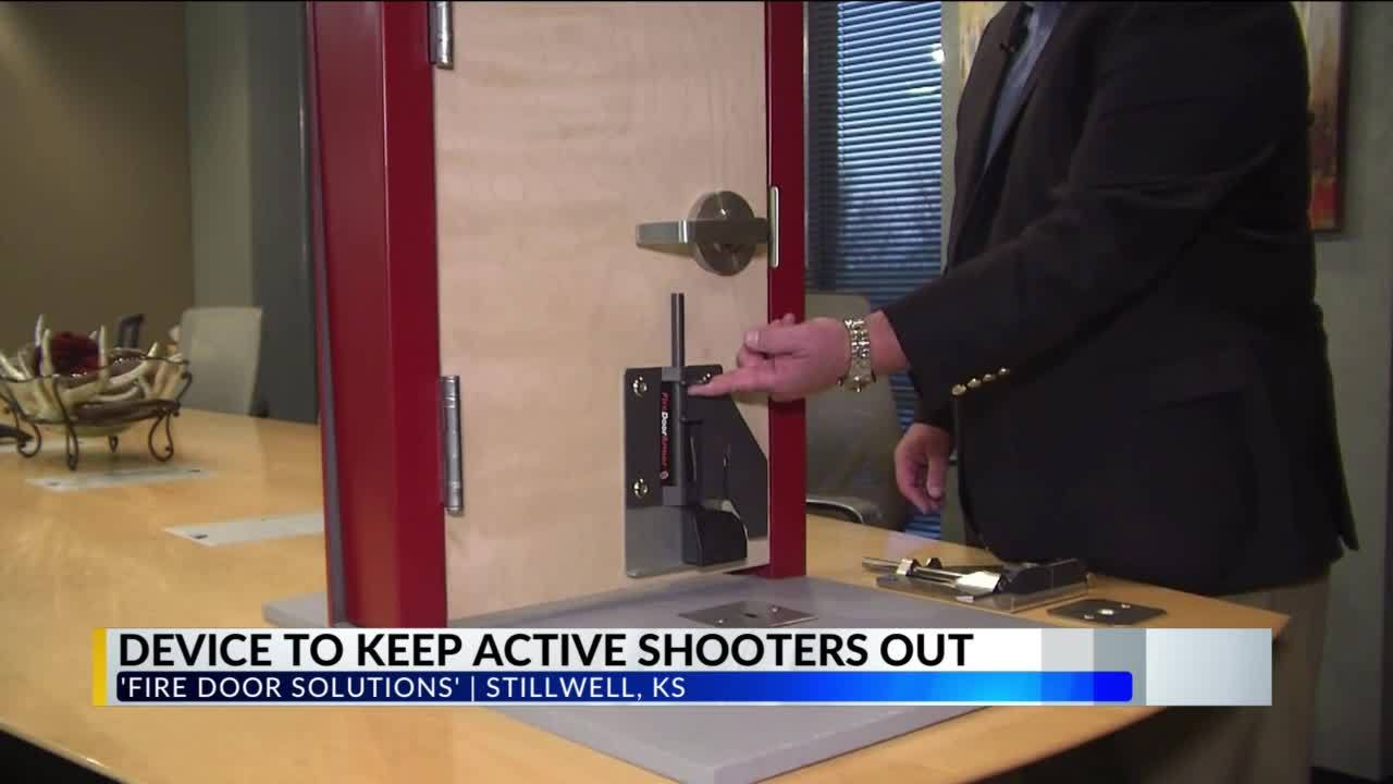 New Door Lock Keeps Kids Safe During Active Shooter Situations