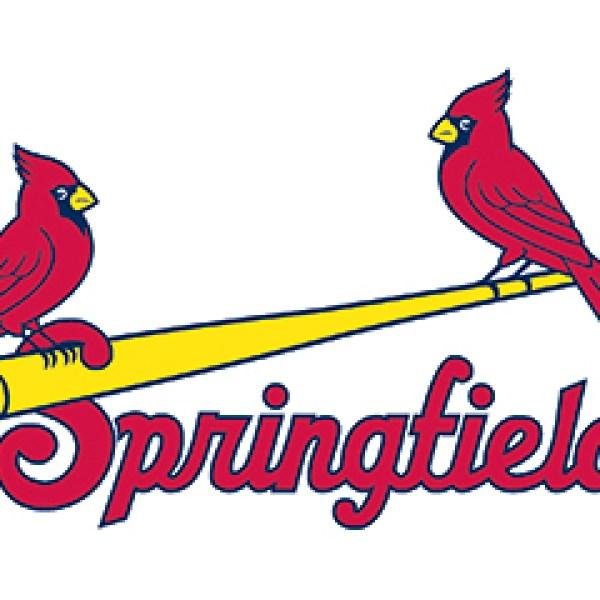 Springfield Cardinals bat logo