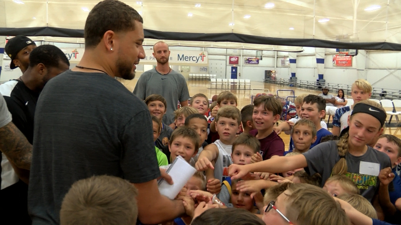 Kyle Weems Basketball Camp