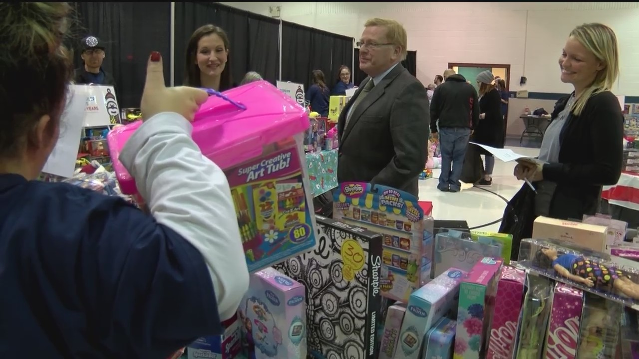 Salvation Army Distributes Toys to Community Members