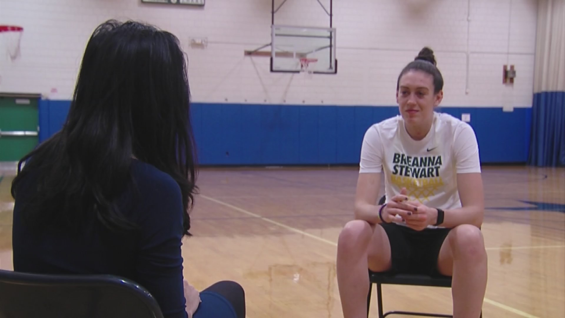 VIDEO: WNBA star, Olympic gold medalist Breanna Stewart aiming beyond arc to impact world