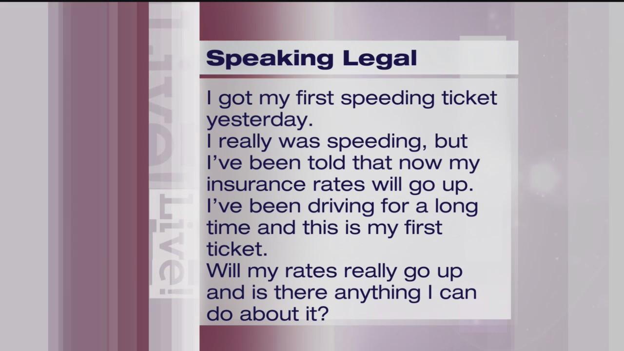 Speeding Tickets - Speaking Legal - 3/19/19