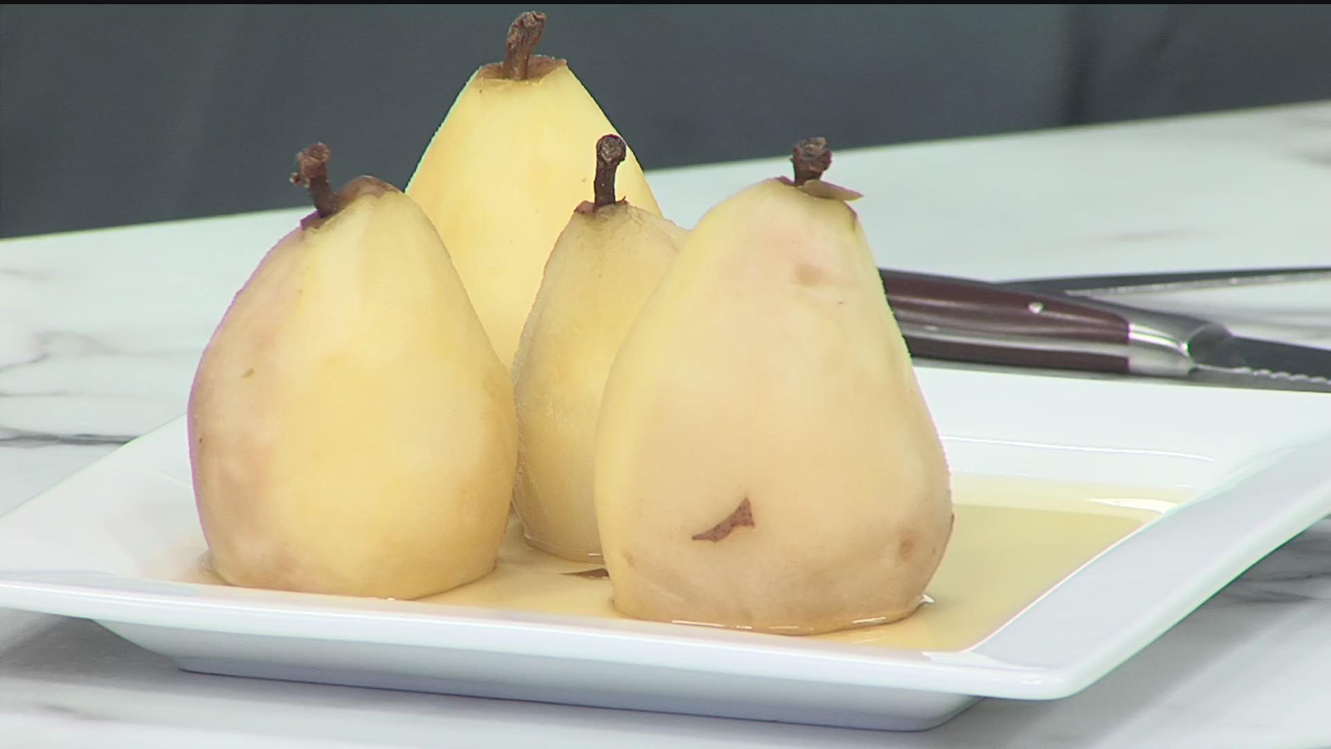 Poached Pears - Crock-Pot Craze - 5/9/19