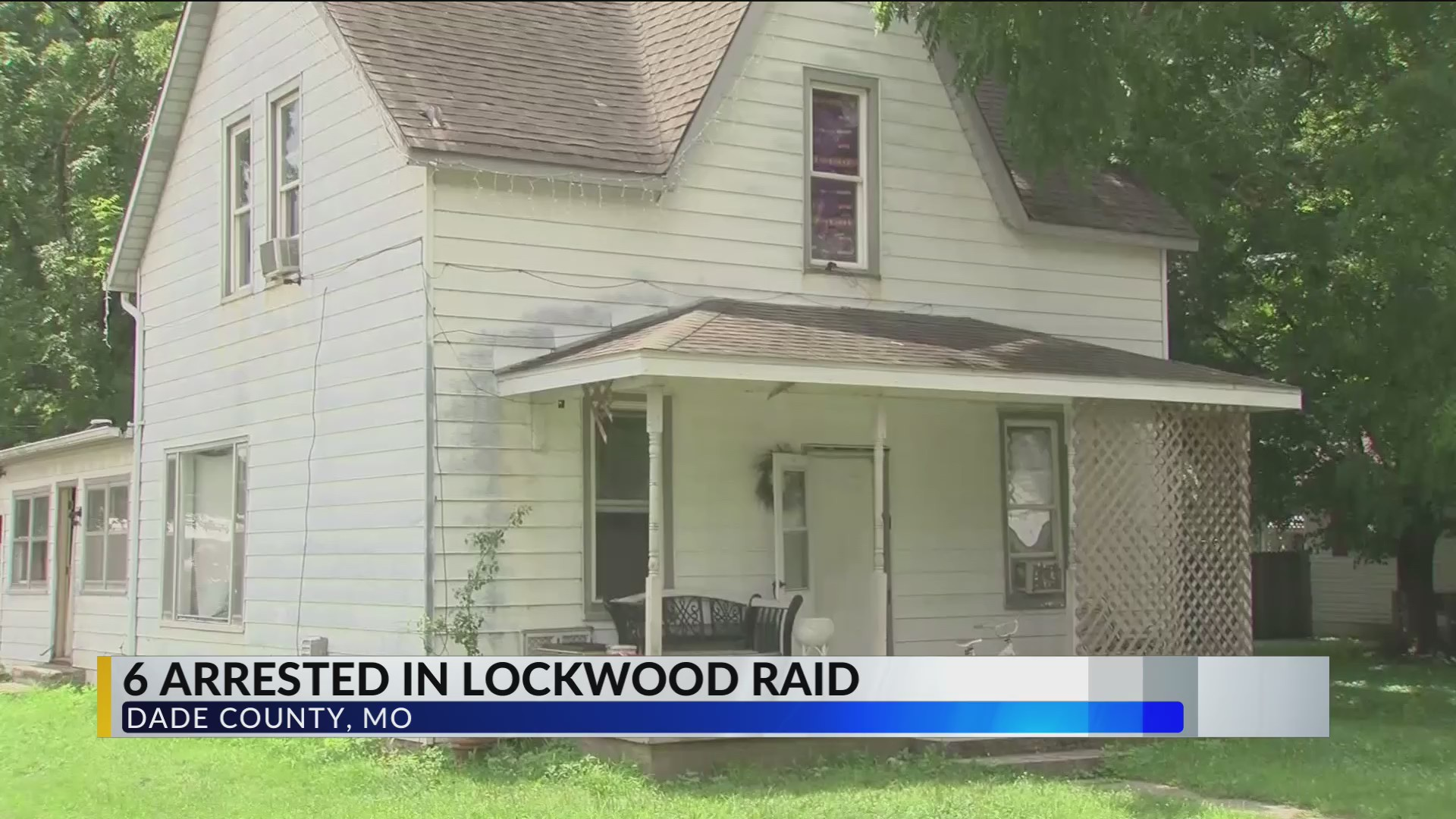 Six people arrested after house raid in Lockwood have been