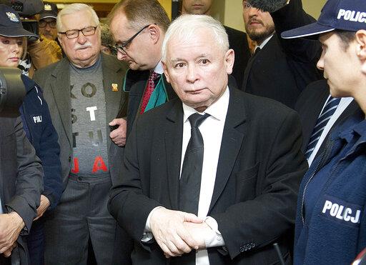 Lech Walesa, Jaroslaw Kaczynski