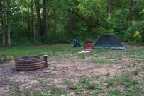 Campsite 8 - Busiek State Forest and Wildlife Area