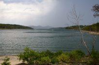 Rain on Table Rock Lake - Big Bay Campground