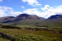 Scottish hills at Achallader