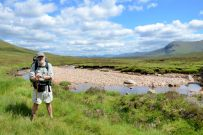 Gary Allman by the River Coupall in Glencoe