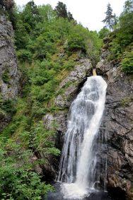 The Falls of Foyers drop 165 feet , near Loch Ness Scotland