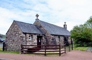 St Maelrubha's, Scottish Episcopal church, Poolewe, Scotland