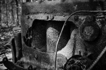 Busiek 1930s Dodge Humpback Panel Truck - Engine Block.