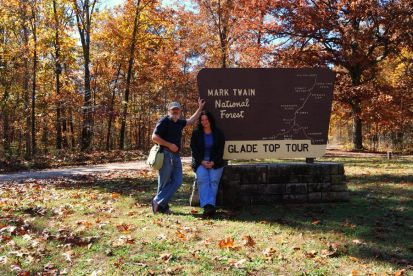 First Stop on the Glade Top Trail