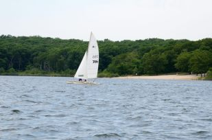 Hobie Cat on Stockton Lake, Missouri