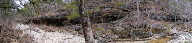 The opposite side of Long Creek