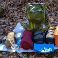 Winter Backpacking / Hammock Camping Gear