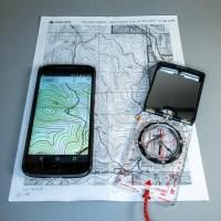Gaia GPS and Suumato Compass