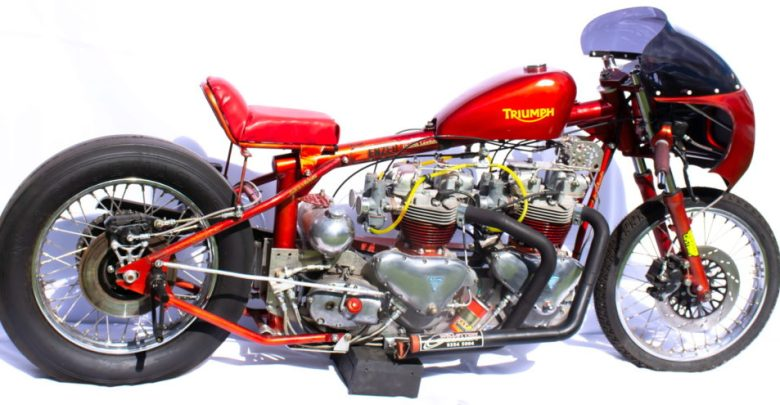 Photo of Home-Made Twin-Engine Triumph