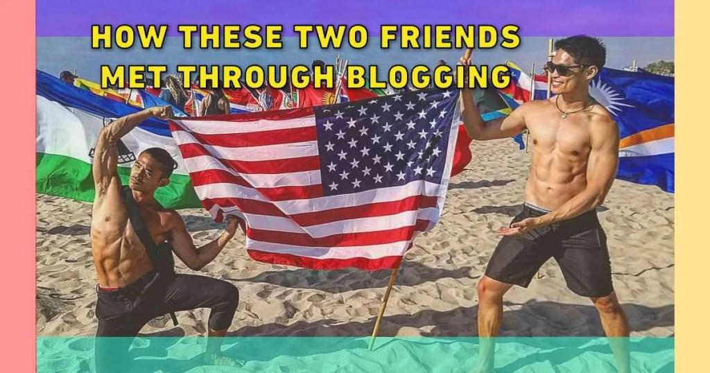 make friends blogging online