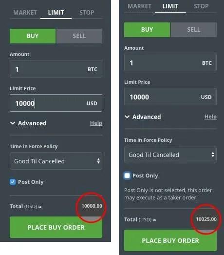 zero maker fee cryptocurrency