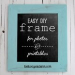 Easy DIY Project – How to make a Picture Frame