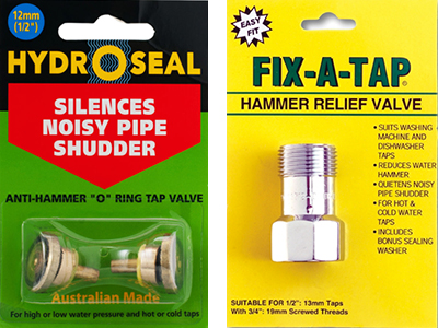 DIY Water Hammer solutions