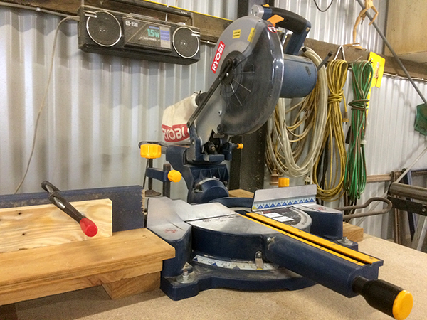 mitre saw stand 1