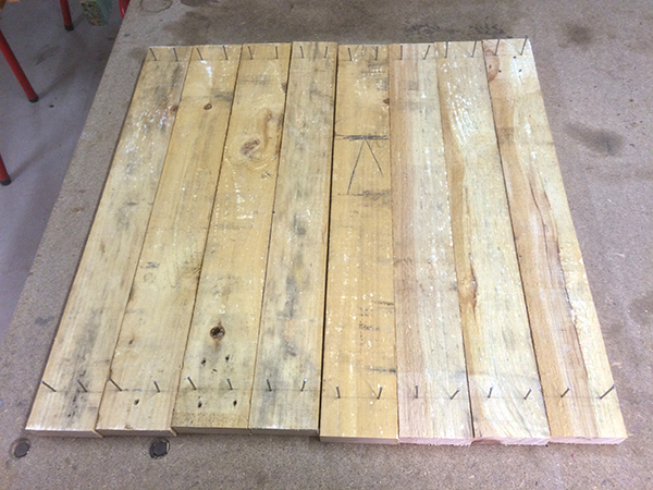 coffee table top boards