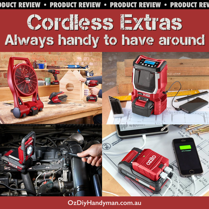 ozito cordless power tool accessories
