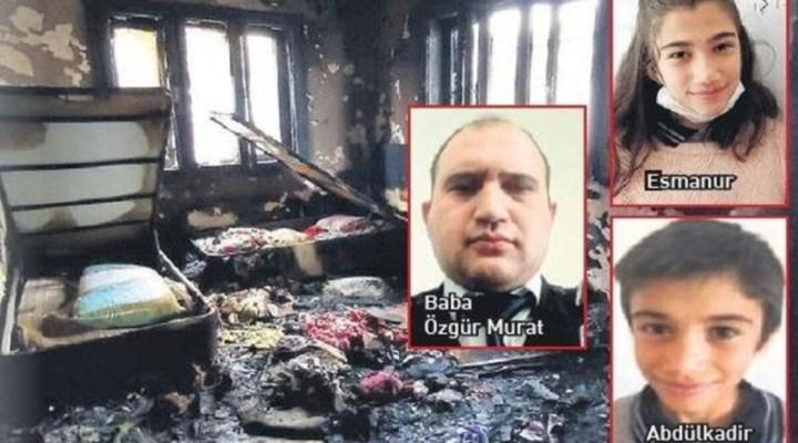Çıkan Yangın Faciasında Özel Güvenlik Görevlisi Baba ve 2 Çocuğu Vefat Etti