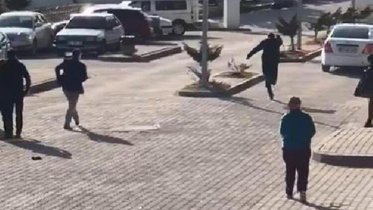 Dehşet!! hastane otoparkında ki tartışmada kan aktı: 2 özel güvenlik yaralandı