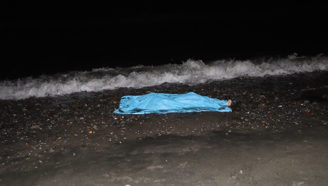 Denizde kaybolan gencin cesedi özel güvenlik görevlisi tarafından fark edildi