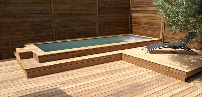 mini piscine bois 5x2 piscine semi