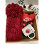 Kırmızı Bereli Seni Seviyorum Kutusu