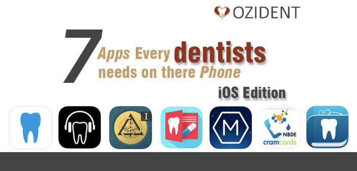 7 Best Dentist apps every dentists needs on their phones – IOS Edition