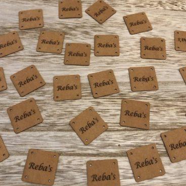 labels met naam